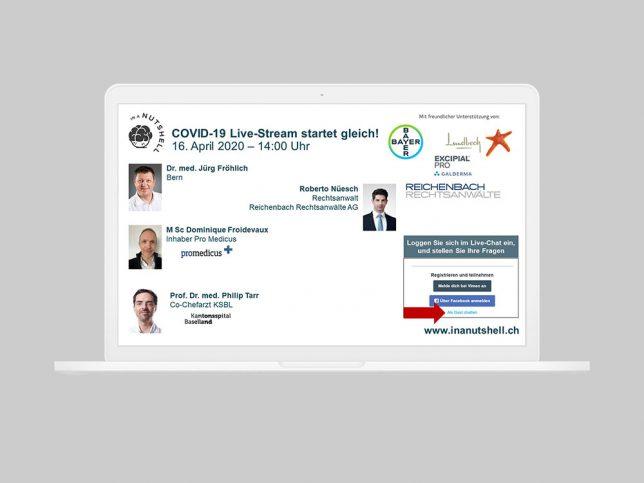 COVID-19 Live-Stream vom 16.4.2020, Kasuistiken & Kurzarbeit
