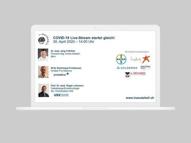 COVID-19 Live-Stream vom 30.4.2020, COVID-19 und Diabetes