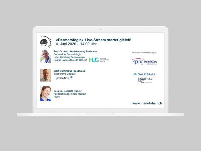 Dermatologie Live-Stream vom 4.6.2020