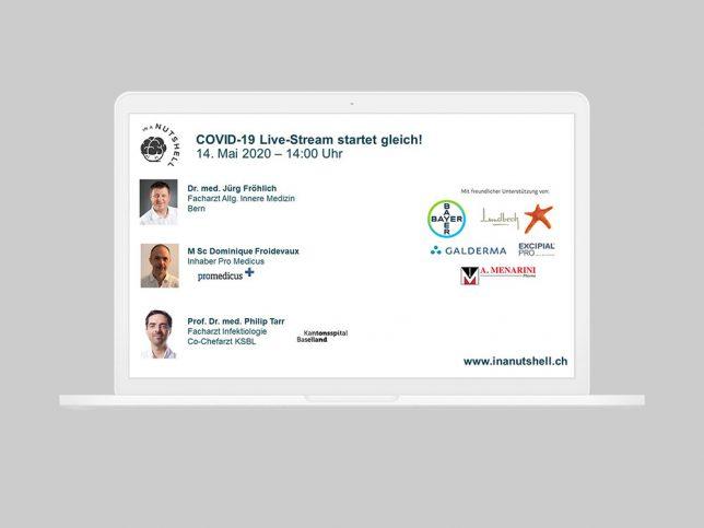 COVID-19 Live-Stream vom 14.5.2020, Dr. Nuts zieht Zwischenbilanz zu COVID-19