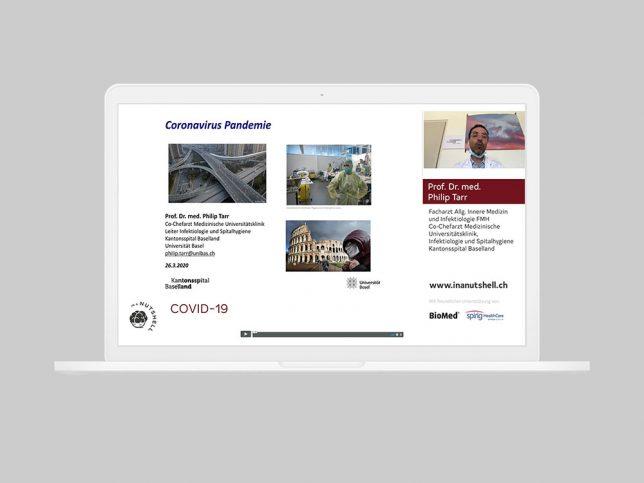 COVID-19 Webcast vom 27.3.2020: Grundlagen zur Coronavirus Pandemie