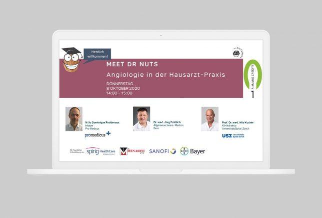 Angiologie Webinar vom 8. Oktober 2020