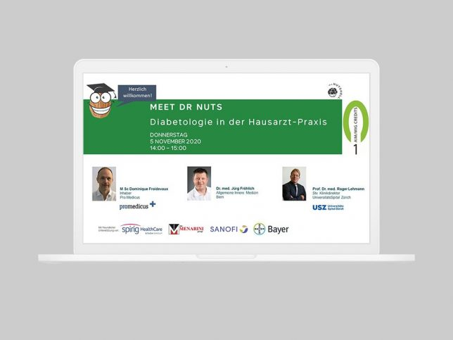 Diabetologie Webinar vom 5. November 2020